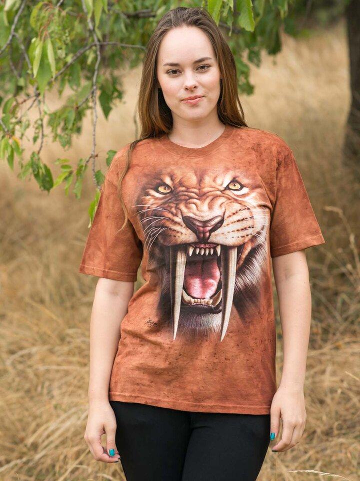Căutați cadou unic și original? Va bucura enorm sărbătoritul Sabertooth Tiger Adult
