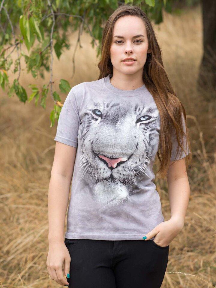 Výjimečný dárek od Dedoles Tričko Bílý tygr