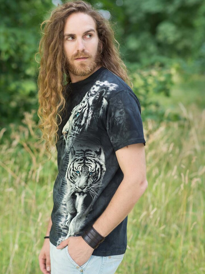 Lifestyle-Foto T-Shirt Tiger Nina