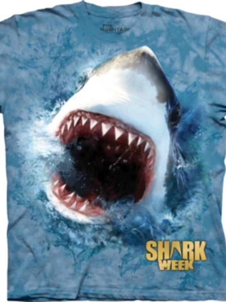 Lifestyle foto Shark Feed Shark Week T Shirt
