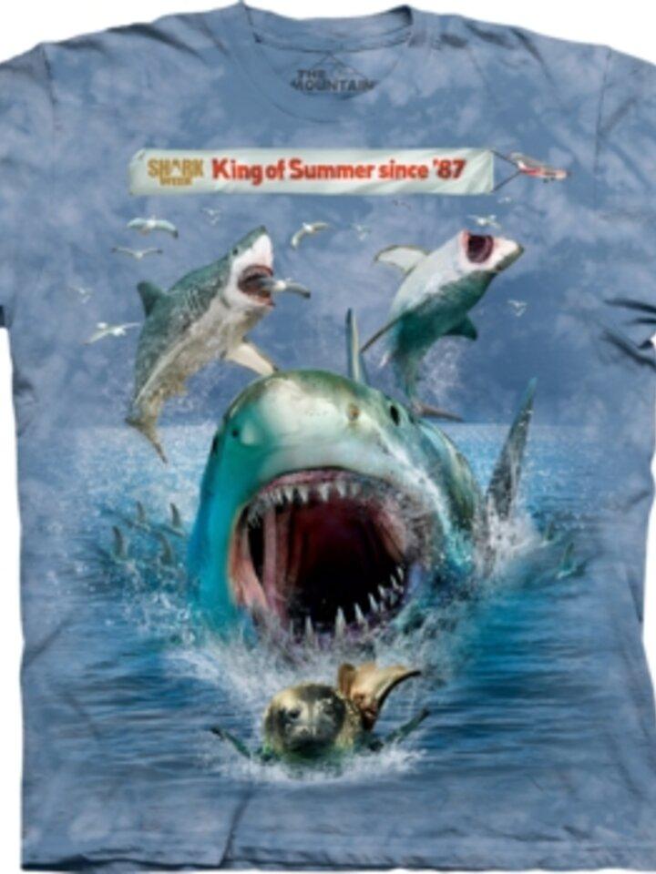 Výnimočný darček od Dedoles Snuffy Shark Week T Shirt