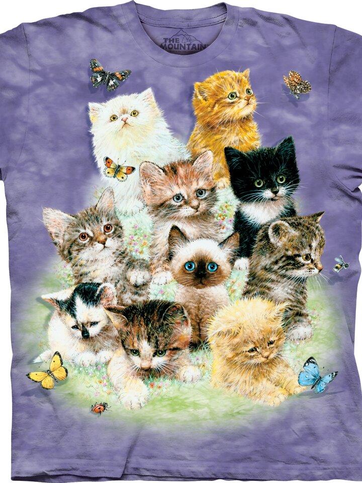 pro dokonalý a originální outfit Tričko 10 hravých koťátek - dětské