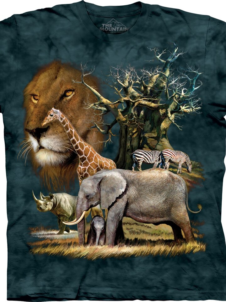 Tip na dárek Tričko Africká divočina - dětské