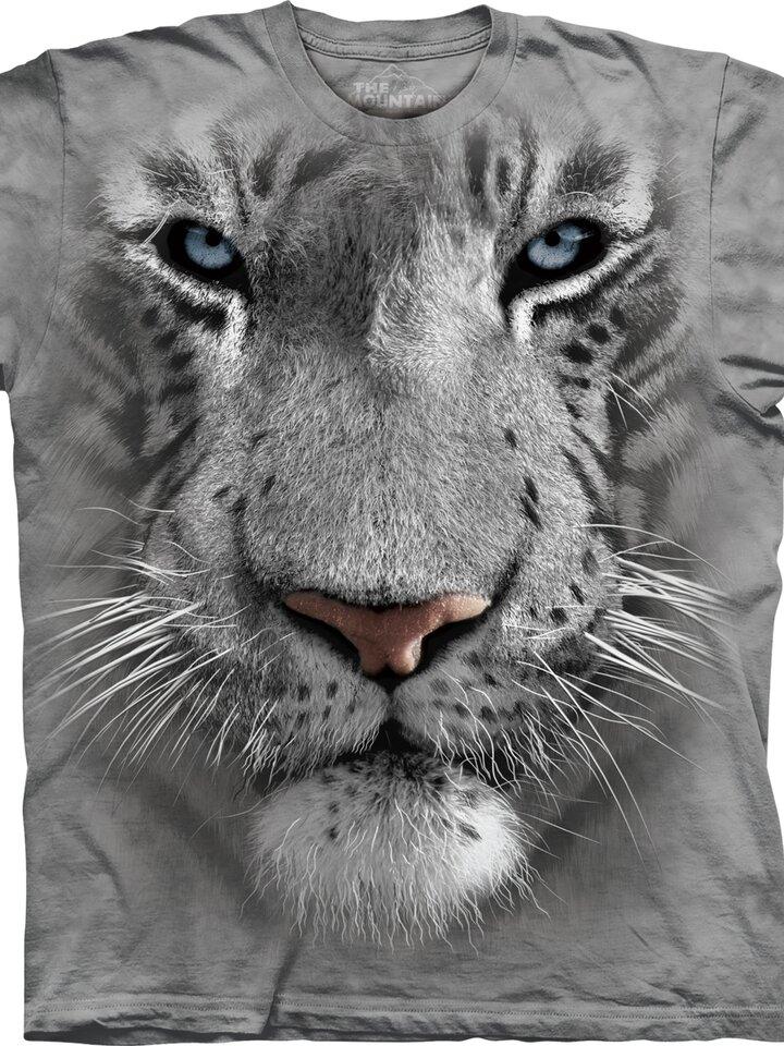 Sleva Tričko Bílý tygr