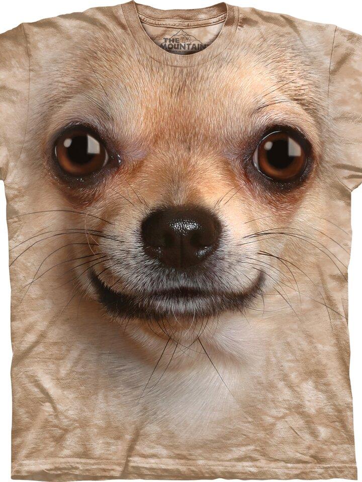 Geschenktipp T-Shirt Chihuahua Gesicht