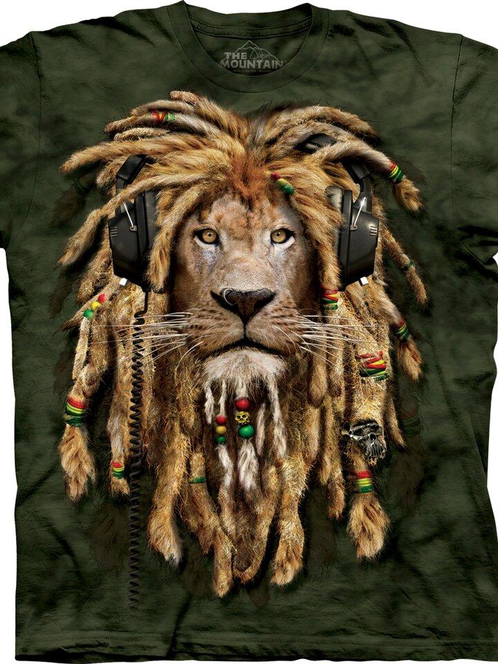 Výpredaj Tričko Dredatý lev