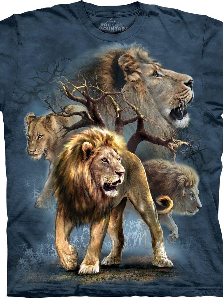 Výprodej Tričko Hladoví lvi - dětské