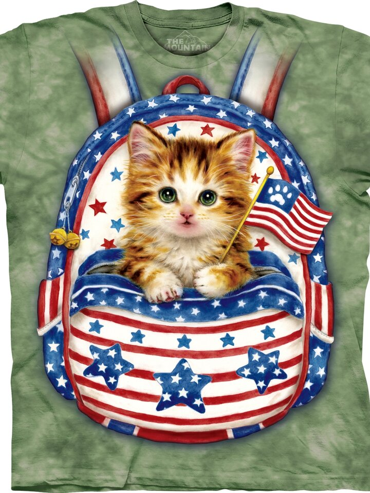 pentru outfit-ul perfect Patriot Backpack Kitten