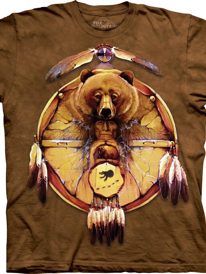 Sleva Tričko Medvěd a Indián - dětské
