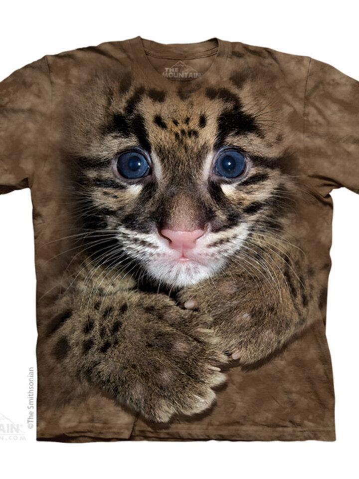 Potešte sa týmto kúskom Dedoles Tričko Mláďatko Leoparda Obláčikového - detské
