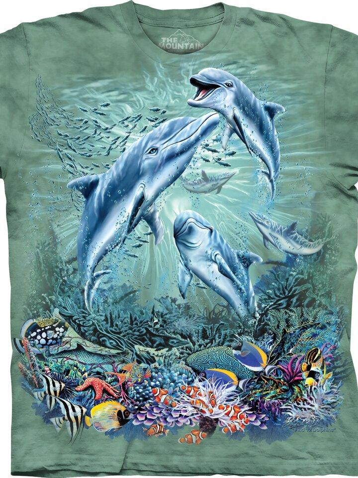Dedoles oryginalny prezent Find 12 Dolphins Child