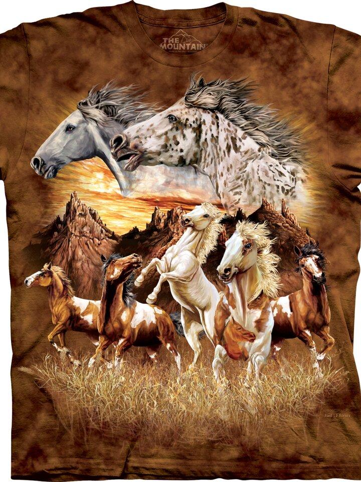 Pre dokonalý a originálny outfit Tričko Nájdi 15 koní - detské