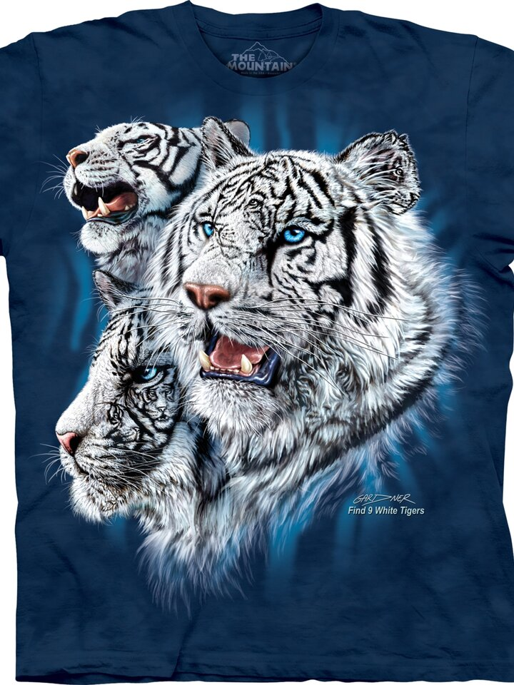 Reducerea Find 9 White Tigers