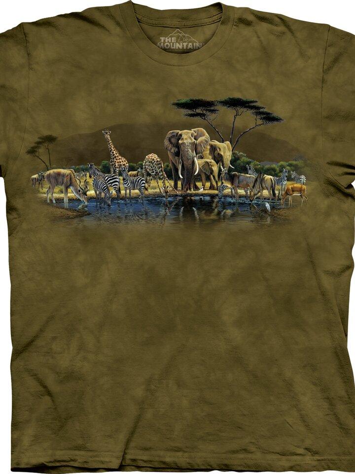 pro dokonalý a originální outfit Tričko Oáza zvířat - dětské