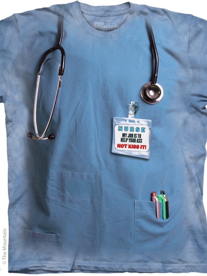 Ausverkauf T-Shirt Krankenschwester Arbeit
