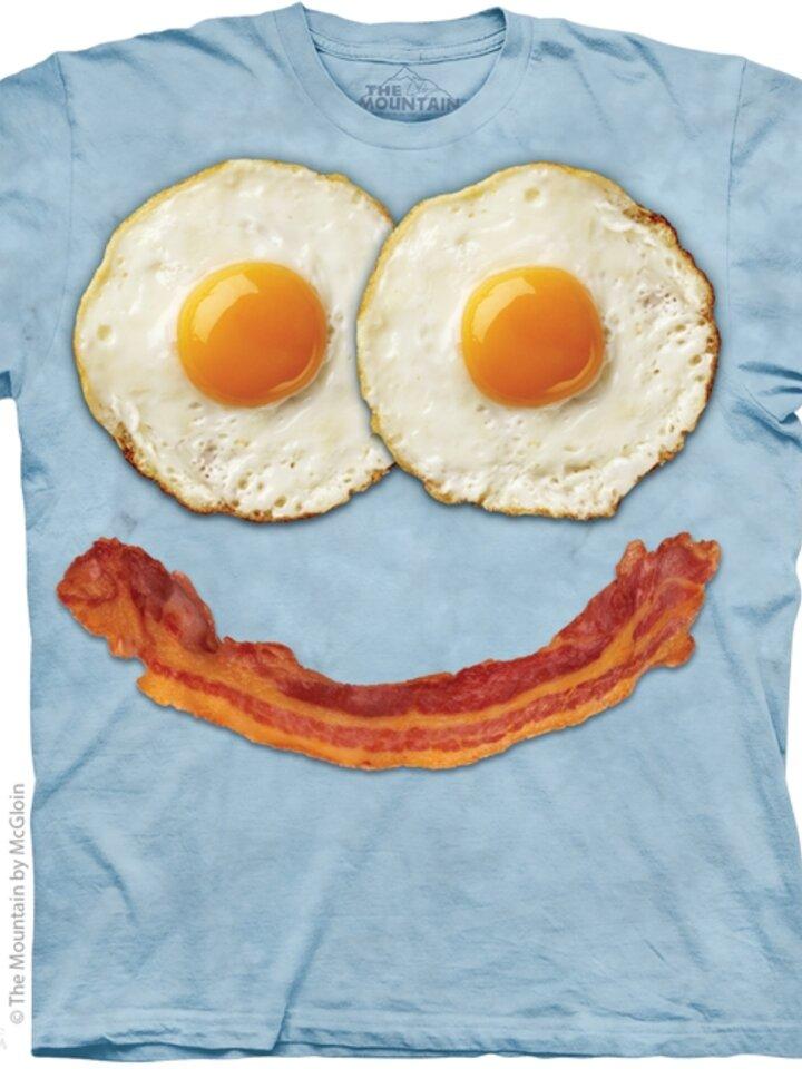 für ein vollkommenes und originelles Outfit T-Shirt Frühstück