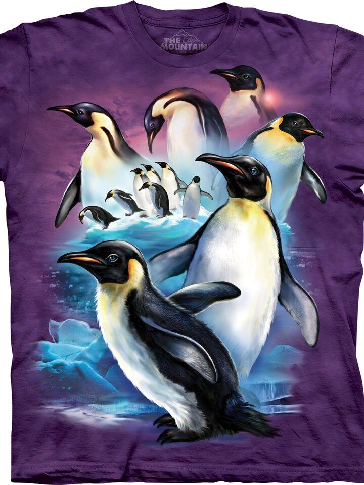 Sleva Tričko S tučňáky - dětské