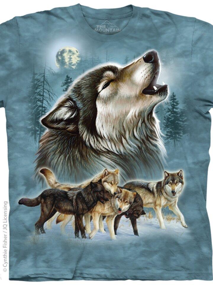 Výpredaj Tričko Starodávne vlky
