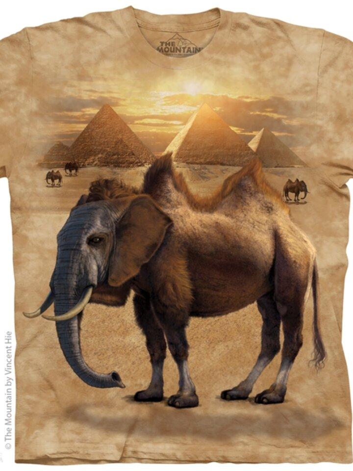 Ausverkauf T-Shirt Kamelefant