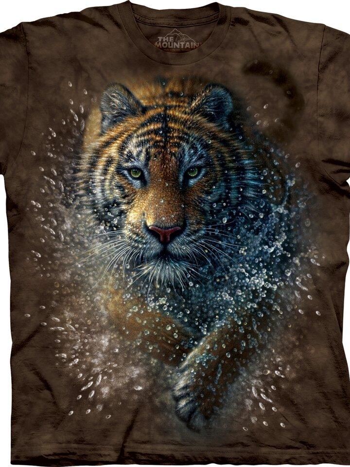 Foto Tričko Tygr ve vodě - dětské