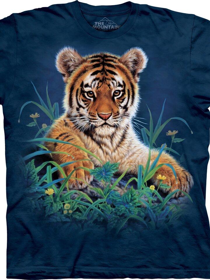 Lifestyle foto Tiger Cub in Grass Child