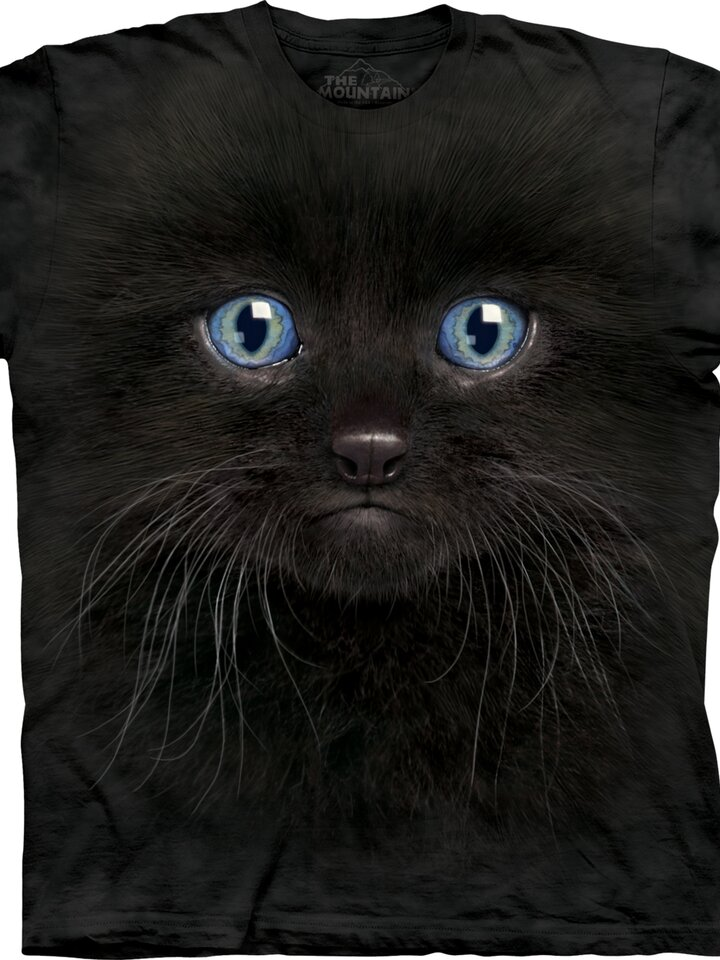 Výnimočný darček od Dedoles Tričko Tvár čierneho mačiatka