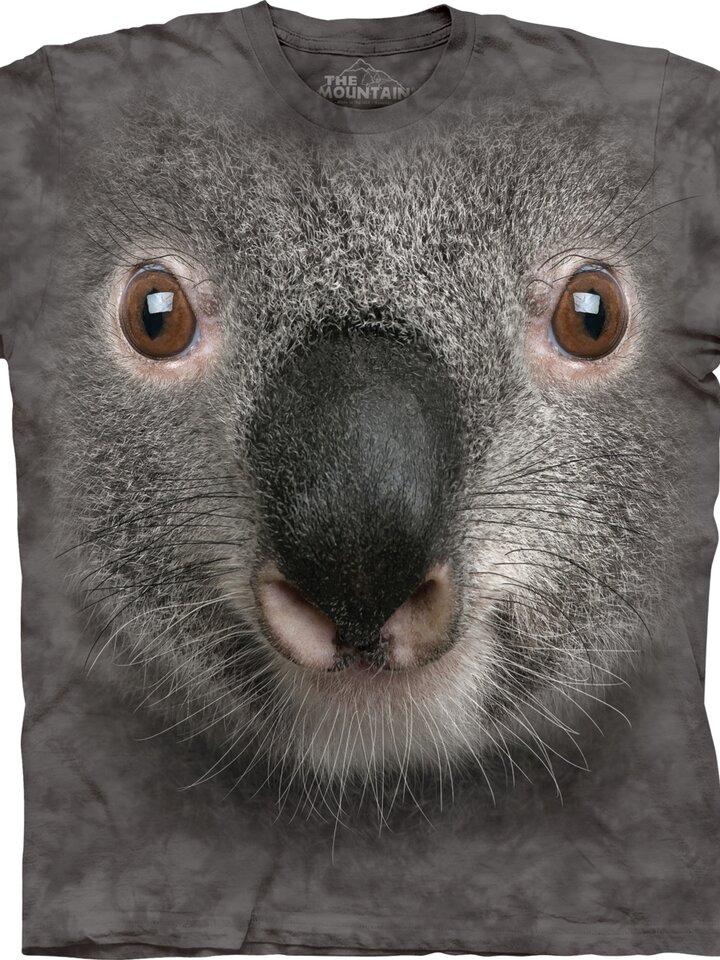 Výprodej Tričko Obličej šedé koaly - dětské
