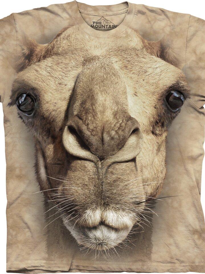 pro dokonalý a originální outfit Tričko Obličej velblouda - dětské
