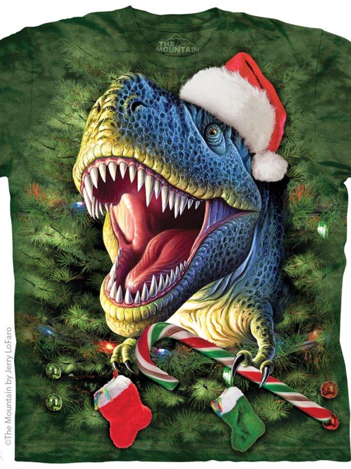 Výpredaj Tričko Vianočný T-Rex - detské