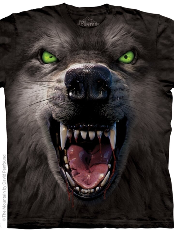 Výprodej tričko Vlkodlak
