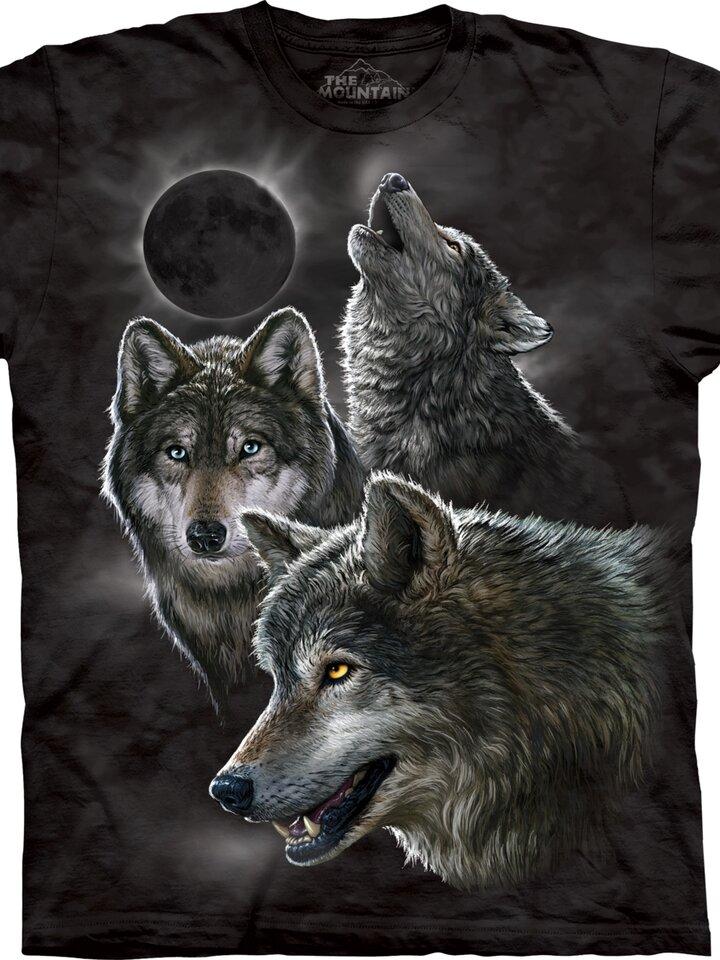 Pre dokonalý a originálny outfit Tričko Vlky a zatmenie Mesiaca – detské