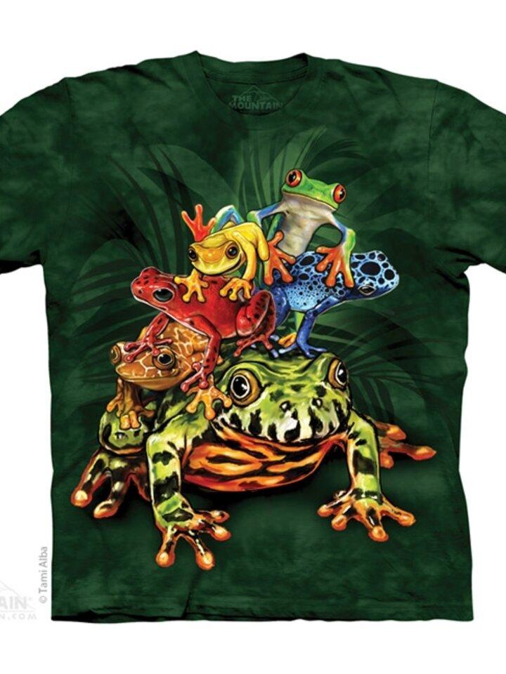 pro dokonalý a originální outfit Tričko Žabí kámoši - dětské