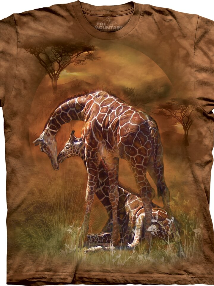 Dedoles oryginalny prezent Giraffe Sunset Child