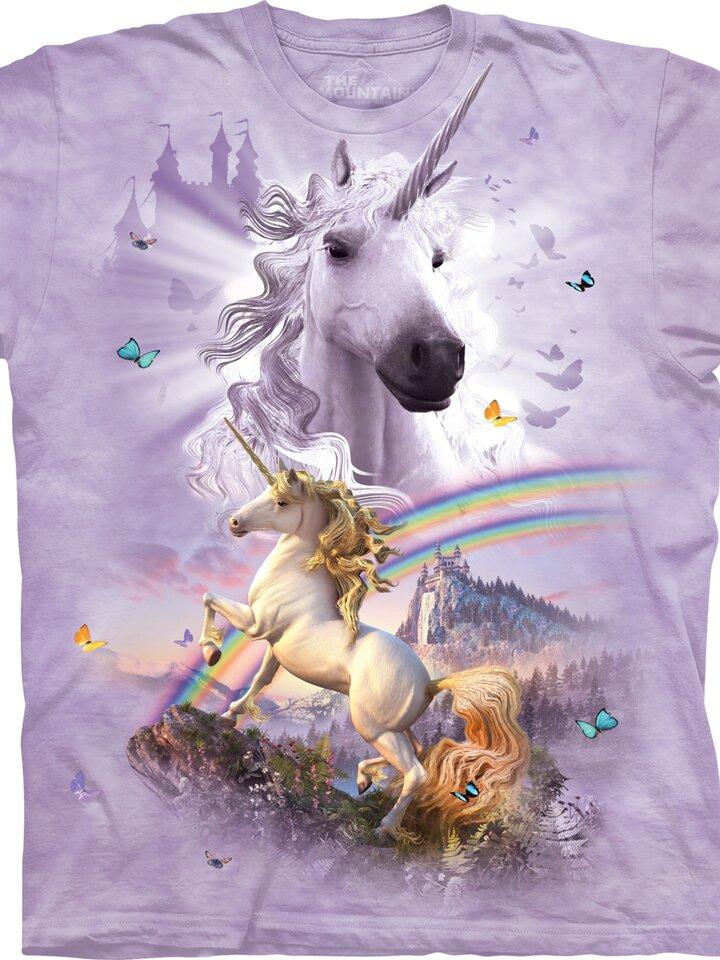 für ein vollkommenes und originelles Outfit T-Shirt Goldhaariges Einhorn