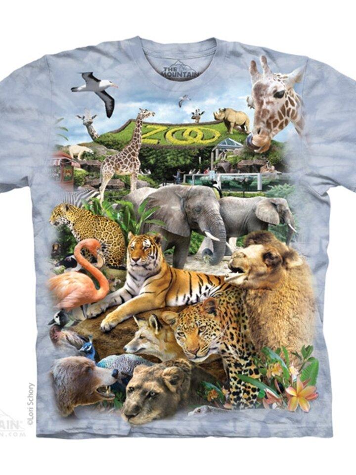 Výnimočný darček od Dedoles Tričko Zoo puzzle - detské
