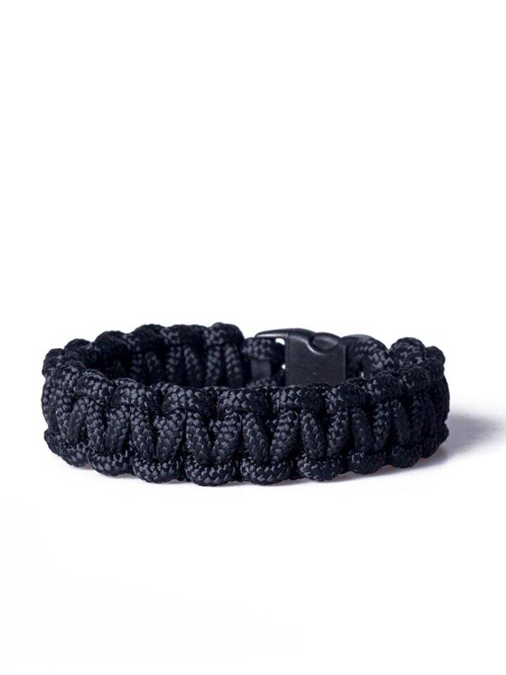 Bereiten Sie sich Freude mit diesem Dedoles-Stück Paracord Überleben-Armband schwarz
