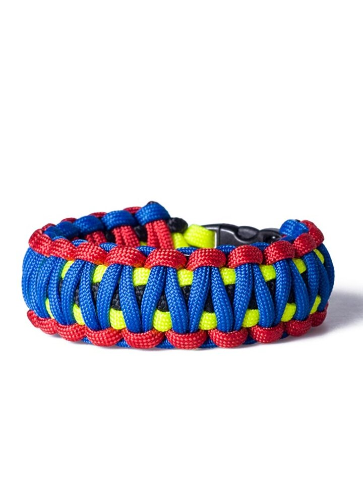Ausverkauf Paracord Überleben-Armband mehrfarbig