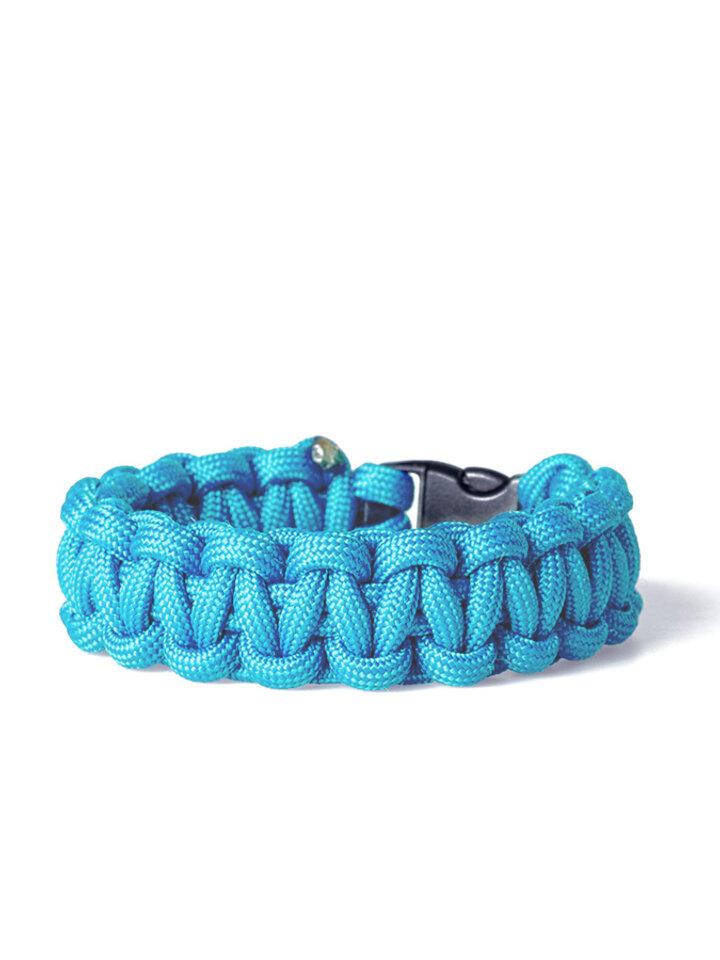 Eredeti ajándék a Dedolestől Paracord túlélési karkötő-kék