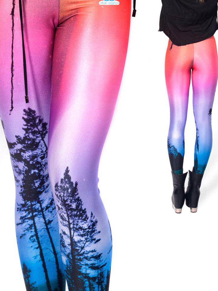 Bereiten Sie sich Freude mit diesem Dedoles-Stück Damen Leggings Elastisch Zauberhafter Wald