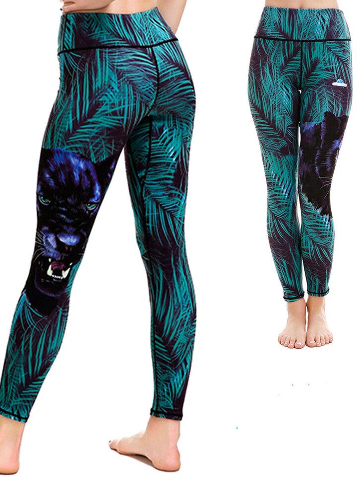 Zľava Ladies' Sport Elastic Leggings Puma in Virgin Forest