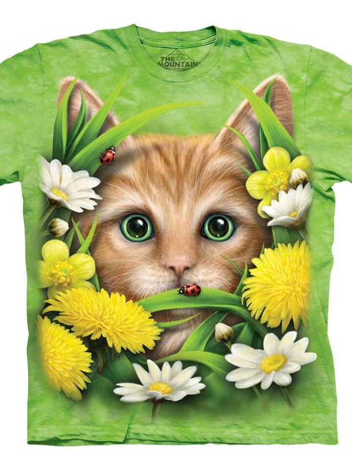 Tip na darček Tričko Jarné mačiatko - detské