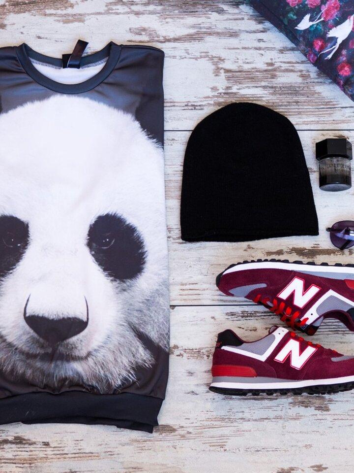 Hľadáte originálny a nezvyčajný darček? Obdarovaného zaručene prekvapí Mikina bez kapucne Panda