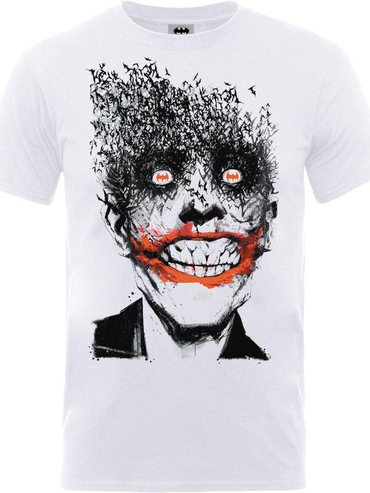 Tip na dárek Tričko DC Comics Batman Joker Face of Bats