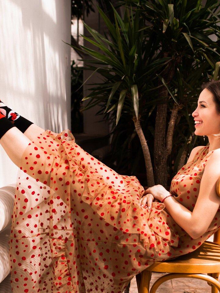 Sale Regular Socks Ladybug