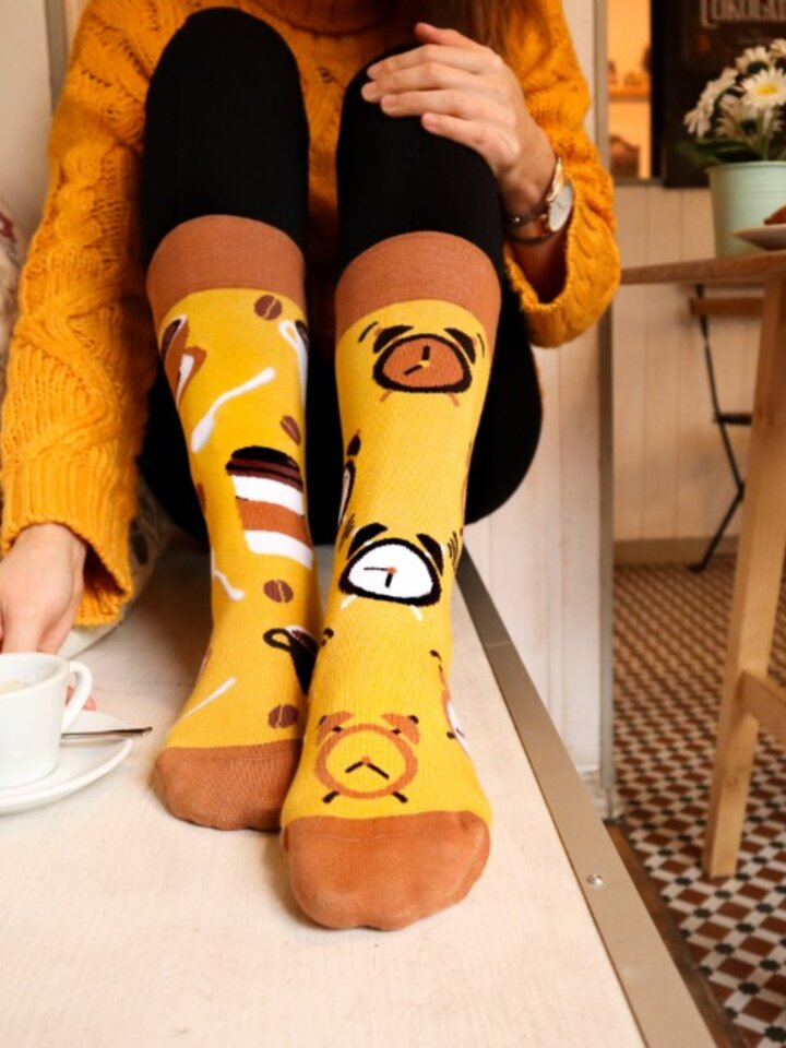 Original gift Regular Socks Coffee Time