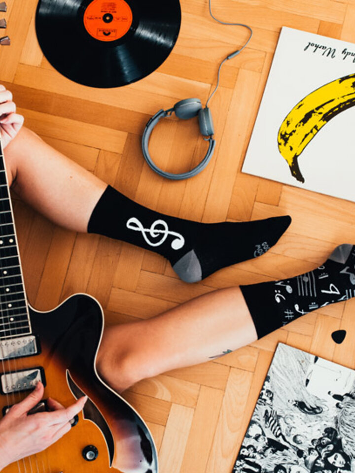 Výpredaj Veselé ponožky Hudba