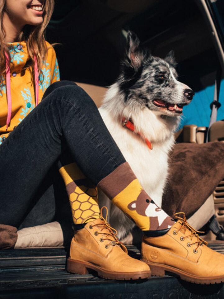 Obrázok produktu Vesele čarape Medvjed i med