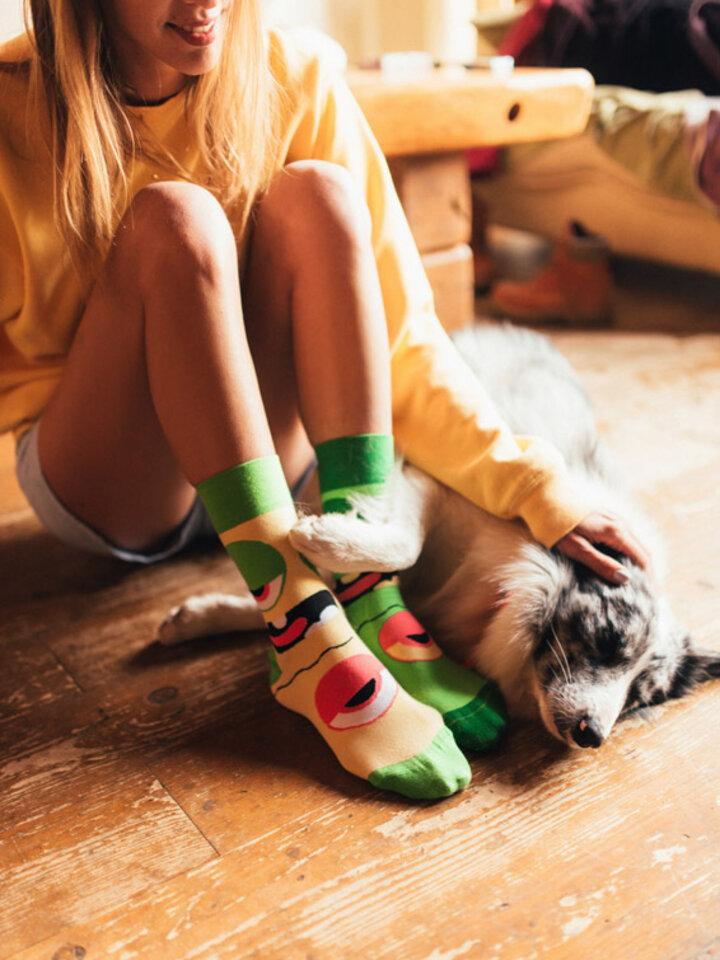 Lifestyle foto Vrolijke sokken Monsters