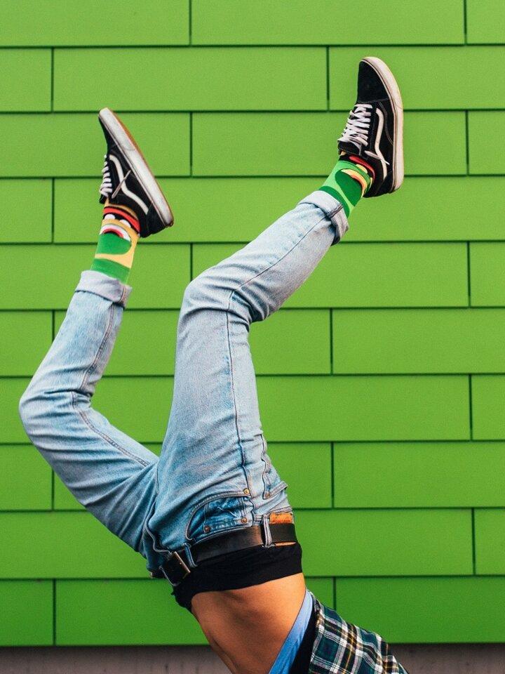 Lifestyle foto Vesele čarape Čudovišta