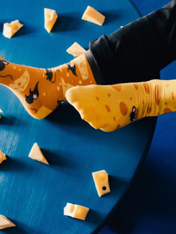 Výpredaj Vrolijke Sokken Kaas